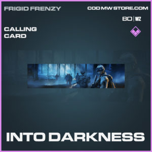 Into Darkness calling card in Black Ops Cold War and Warzone