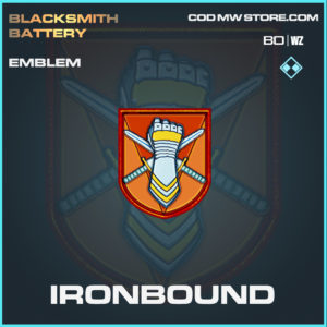 Ironbound emblem in Black Ops Cold War and Warzone