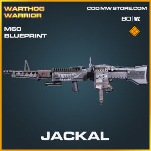 Jackal M60 blueprint skin in Black Ops Cold War and Warzone