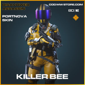 Killer Bee Portnova skin in Black Ops Cold War and Warzone