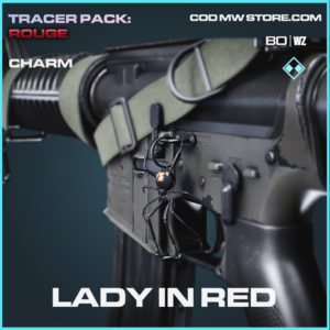 Lady in Red charm in Black Ops Cold War and Warzone