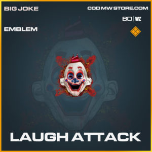 Laugh Attack emblem in Black Ops Cold War and Warzone