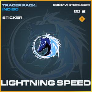 Lightning Speed sticker in Black Ops Cold War and Warzone