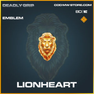 Lionheart emblem Deadly Grip in Black Ops Cold War and Warzone