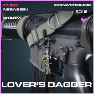 Lover's Dagger charm in Black Ops Cold War and Warzone