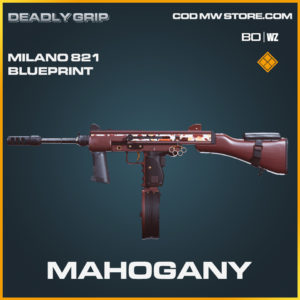 Mahogany milano 821 Deadly Grip in Black Ops Cold War and Warzone