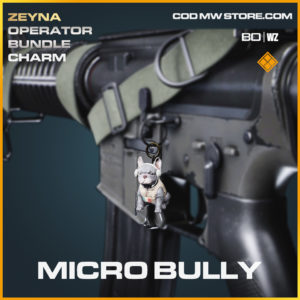 Micro Bully charm in Black Ops Cold War and Warzone