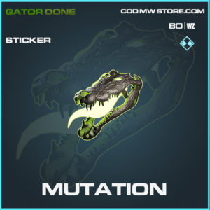 Mutation sticker in Black Ops Cold War and Warzone