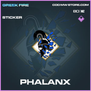 Phalanx Sticker in Black Ops Cold War and Warzone