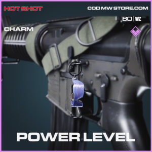 Power level charm in Black Ops Cold War and Warzone