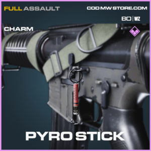 Pyro Stick charm in Black Ops Cold War and Warzone