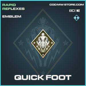 Quick Foot emblem in Black Ops Cold War and Warzone