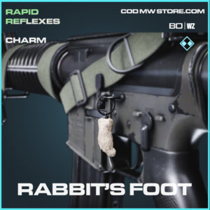 Rabbit's Foot charm in Black Ops Cold War and Warzone
