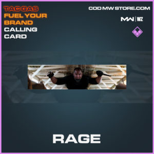 Rage calling card in Modern Warfare and Warzone
