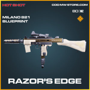 Razor's Edge milano 821 blueprint skin in Black Ops Cold War and Warzone
