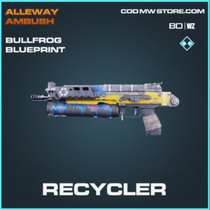 Recycler Bullfrog blueprint skin in Black Ops Cold War and Warzone
