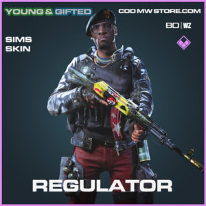 Regulator Sims skin in Black Ops Cold War and Warzone