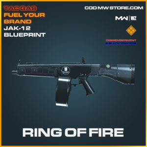 Ring of Fire JAK-12 blueprint and skin in Modern Warfare and Warzone