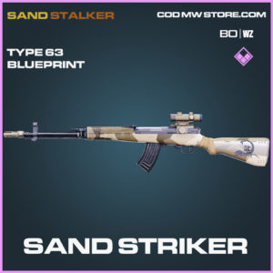 Sand Striker Type 63 blueprint skin in Black Ops Cold War and Warzone