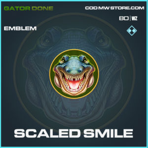 Scaled Smile emblem in Black Ops Cold War and Warzone