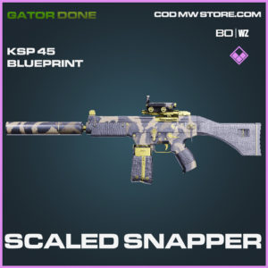 Scaled Snapper KSP 45 blueprint skin in Black Ops Cold War and Warzone