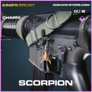 Scorpion charm in Black Ops Cold War and Warzone