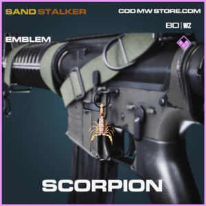 Scorpion emblem in Black Ops Cold War and Warzone
