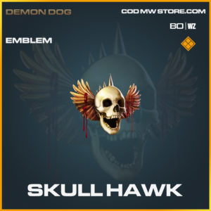 Skull Hawk emblem in Black Ops Cold War and Warzone