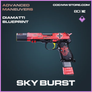 Sky Burst Diamatti blueprint skin in Black Ops Cold War and Warzone