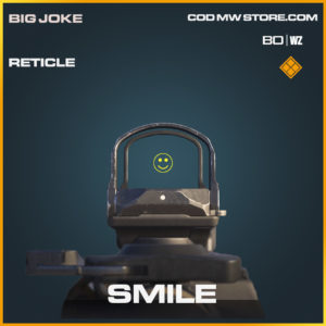 Smile Reticle in Black Ops Cold War and Warzone