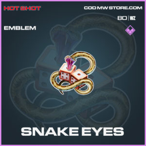 Snake Eyes emblem in Black Ops Cold War and Warzone