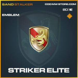 Striker elite emblem in Black Ops Cold War and Warzone