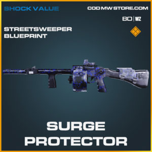 Surge Protector Streetsweeper blueprint skin in Black Ops Cold War and Warzone