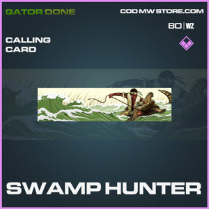 Swamp Hunter calling card in Black Ops Cold War and Warzone