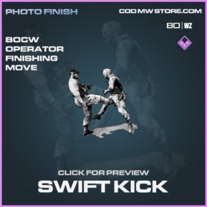 Swift Kick Operator Finishing Move in Call of Duty Black Ops Cold War and Warzone