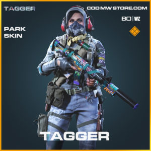 Tagger Park skin in Black Ops Cold War and Warzone