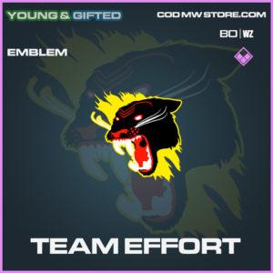 Team Effort emblem in Black Ops Cold War and Warzone