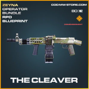 The Cleaver RPD blueprint skin in Black Ops Cold War and Warzone