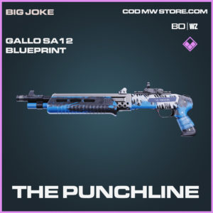 The Punchline Gallo SA12 blueprint skin in Black Ops Cold War and Warzone