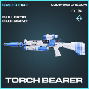 Torch Bearer bullfrog blueprint skin in Black Ops Cold War and Warzone