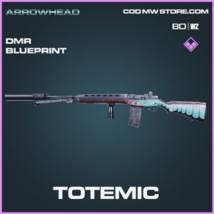 Totemic DMR blueprint skin in Ancient Arrow charm in Black Ops Cold War and Warzone