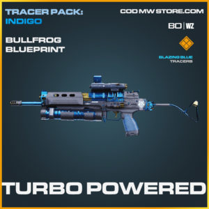 Turbo Powered bullfrog blueprint skin in Black Ops Cold War and Warzone