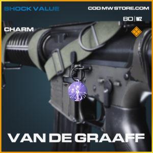 Van De Graaff charm in Black Ops Cold War and Warzone