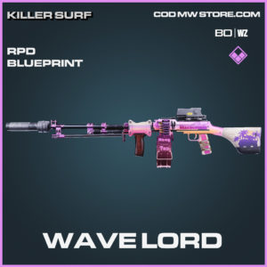 Wave Lord RPD blueprint skin in Black Ops Cold War and Warzone