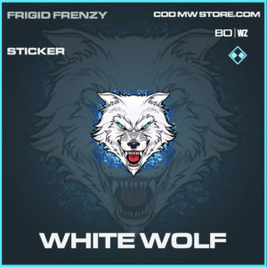 White Wolf sticker in Black Ops Cold War and Warzone