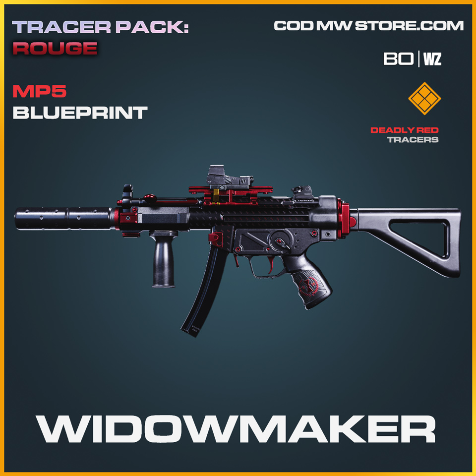 WIdowmaker MP5 blueprint skin in Black Ops Cold War and Warzone