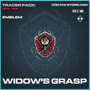 Widow's Grasp emblem in Black Ops Cold War and Warzone