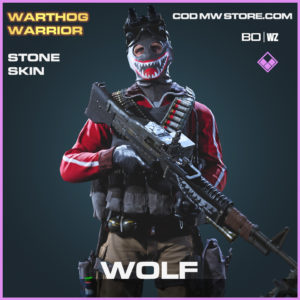 Wolf Stone skin in Black Ops Cold War and Warzone
