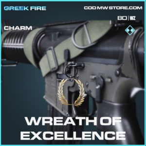 Wreath of Excellence charm in Black Ops Cold War and Warzone