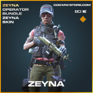 Zeyna skin in Black Ops Cold War and Warzone